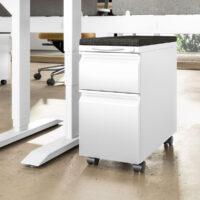 Mobile-Pedestal-Slim-White-Charcoal-Cushion-Detail