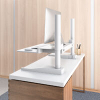 Winston-E-Desk-White-Profile-Detail