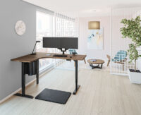 L-Unit-Black-Base-Pinnacle-Walnut-Worksurface-private-office